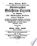 Georg Andreas Will's Nürnbergisches Gelehrten-Lexicon, oder, Beschreibung aller nürnbergischen Gelehrten ...