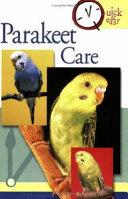 Parakeet Care Book PDF