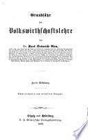 Lehrbuch der politischen Oekonomie von Karl Heinrich Rau