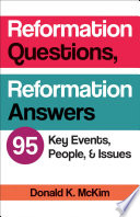 Reformation Questions  Reformation Answers