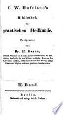 Bibliothek der practischen Heilkunde