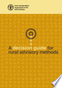 A Decision Guide For Rural Advisory Methods