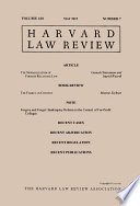 Harvard Law Review  Volume 128  Number 7   May 2015