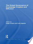 The Global Governance of Knowledge Creation and Diffusion