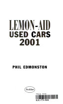 Lemon Aid Used Cars 2001