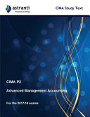 Cima P2 Advanced Management Accounting Study Text