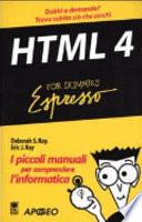 Html 4 Espresso For Dummies