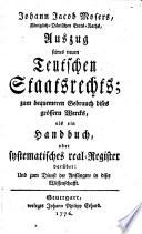 Neues teutsches Staatsrecht