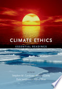 Climate Ethics : emerging area of ethics and...