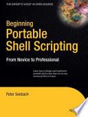 Beginning Portable Shell Scripting