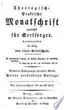 Theologisch-Praktische Monatschrift zunächst für Seelsorger