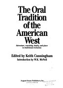 The Oral tradition of the American West