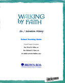 Walking by Faith Grade 6