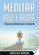 Meditar aqu   y ahora  T  cnica de Meditaci  n Para tu Despertar
