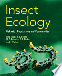 Insect Ecology book