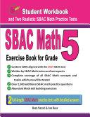 SBAC Math Exercise Book for Grade 5