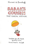 Babar's Cousin, that Rascal Arthur
