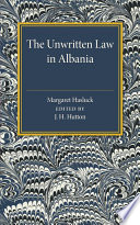 The Unwritten Law In Albania