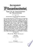 Zeitschrift für Pflanzenkrankheiten