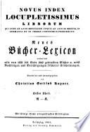 Vollst  ndiges B  cher Lexicon