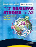 OCR Business Studies for A2