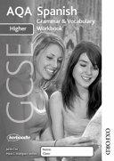 Aqa Gcse Spanish Higher Grammar and Vocabulary Workbook Pack  X8