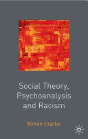 Social Theory  Psychoanalysis and Racism