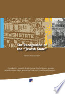 On Recognition of the    Jewish State