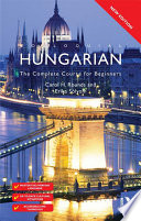 Colloquial Hungarian (eBook And MP3 Pack) To Date Specially Written By Experienced