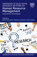 Handbook of Qualitative Research Methods on Human Resource Management