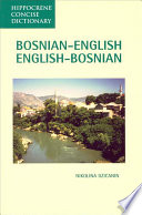 Bosnian English  English Bosnian Dictionary