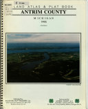 Land Atlas   Plat Book  Antrim County  Michigan