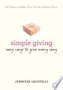 Simple Giving book