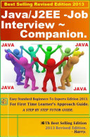 Java J2EE Job Interview Companion    Questions   Answers 2013