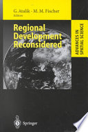Regional Development Reconsidered Has Increased Dramatically Real World Concerns Have
