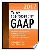 Wiley Not for Profit GAAP 2017