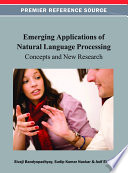 Emerging Applications of Natural Language Processing  Concepts and New Research