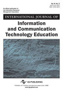 International Journal of Information and Communication Technology Education (IJICTE), Volume 8