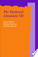 The Medieval Chronicle VII. : as the topic of a yearbook....