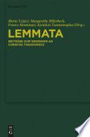 Lemmata