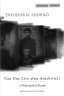 Can One Live After Auschwitz
