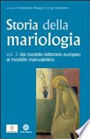 Storia della mariologia