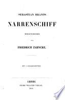 Sebastian Brants Narrenschiff. Herausgegeben von Friedrich Zarncke. Mit 4 Holzschnitten