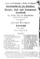 Kürschners deutscher Literatur-Kalender