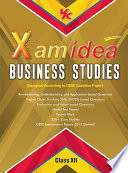 Xam idea Business Studies Class 12   2017