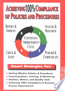 Achieving 100  Compliance of Policies and Procedures
