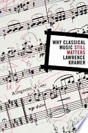 Why Classical Music Still Matters Book PDF