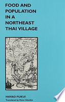 Food and Population in a Northeast Thai Village