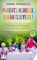 Parents heureux  enfants joyeux