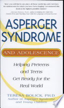 Asperger Syndrome Adolescence Pb